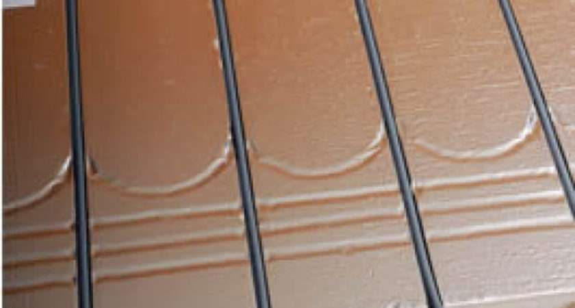 Floating Floor Insulation Panel Grooves
