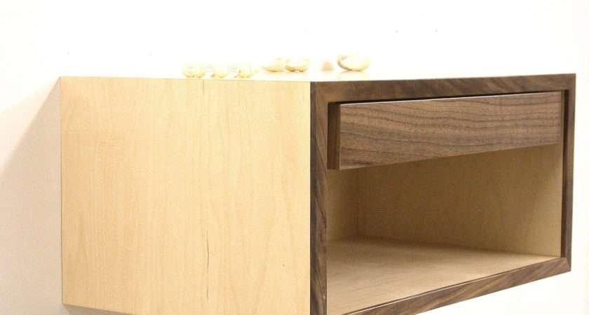 Floating Nightstand Wall Shelf Bedside Table Dldesignworks