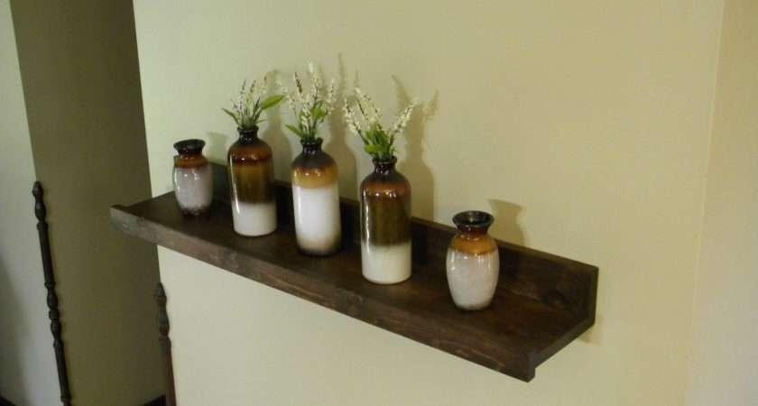 Floating Shelf Storage Organization Wood Jnmrusticdesigns