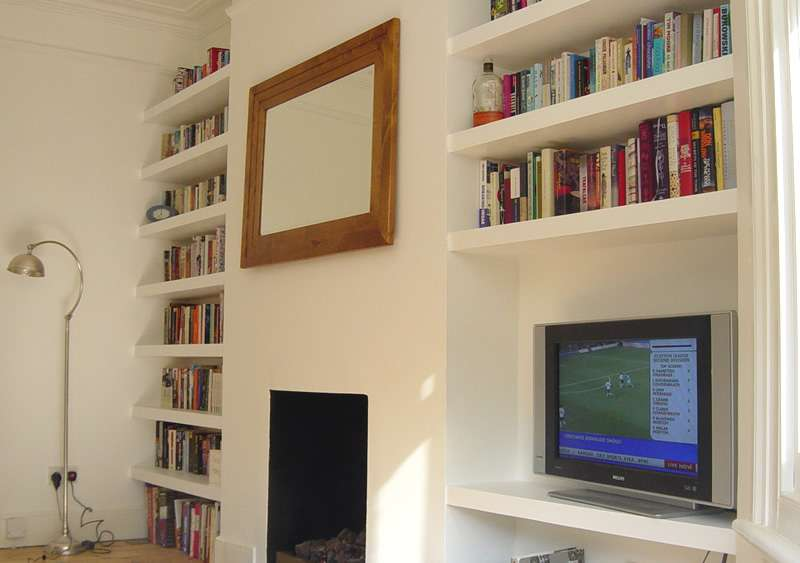 Floating Shelves Alcoves Londoncarpenter