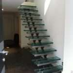 Floating Staircase Glass Treads Morris Fabrications Ltd