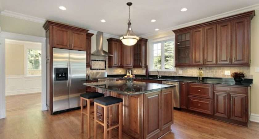 Floor Colors Kitchen Dark Hardwood