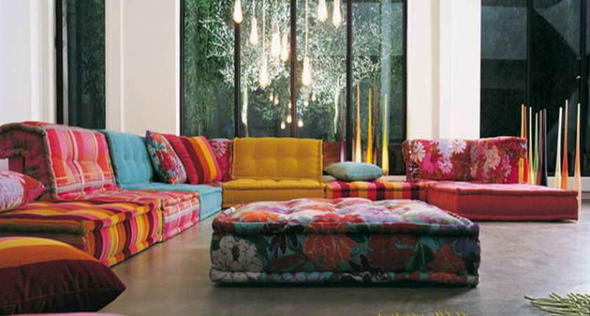 Floor Pillows Ideas Decoration Modular Living Room
