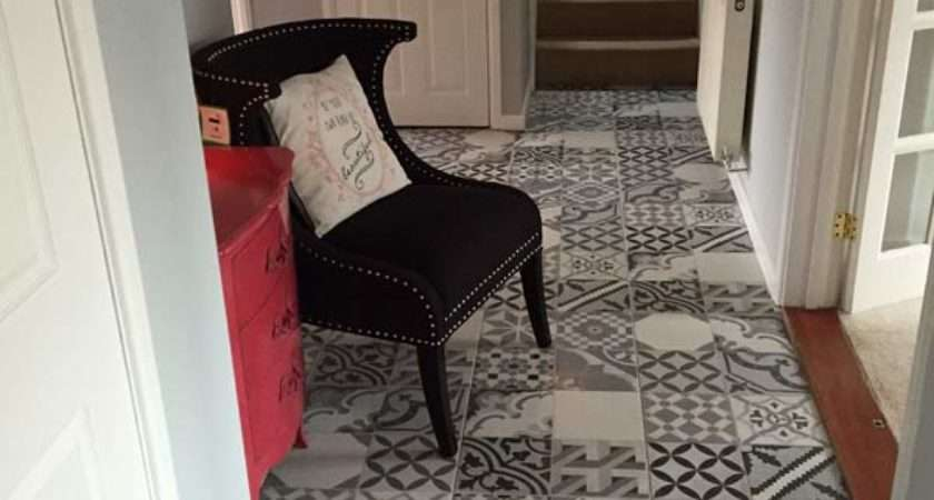 Floor Tiles Hallway Decor Ideas