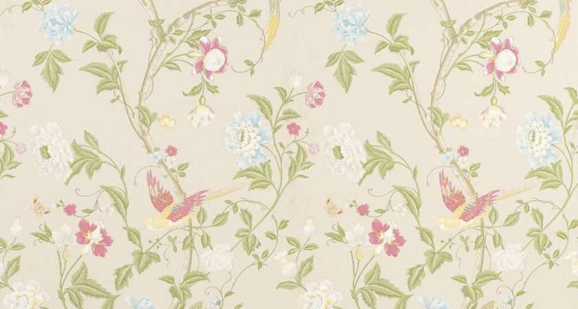 Floral Walls Grasscloth
