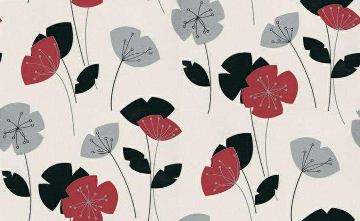 Flori Graham Brown Fantastic Bold Floral