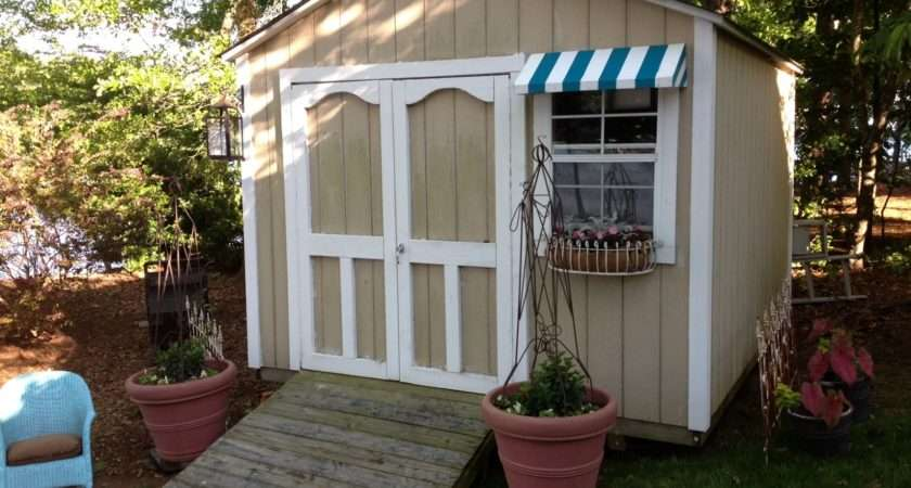 Flowe Fun Decorate Your Storage Shed
