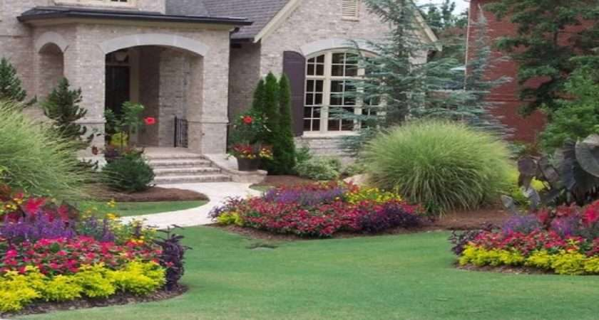 Flower Garden Ideas Front House Youtube