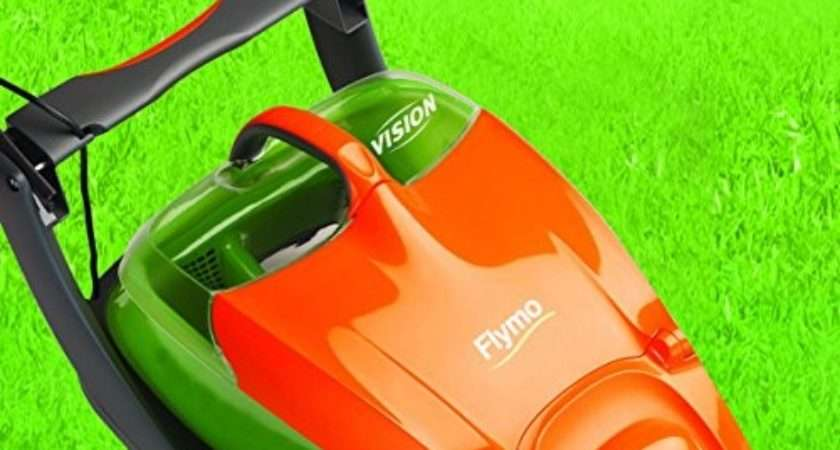 Flymo Glider Electric Hover Collect Lawnmower