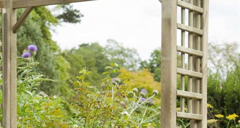 Forest Garden Berkeley Square Wooden Arch