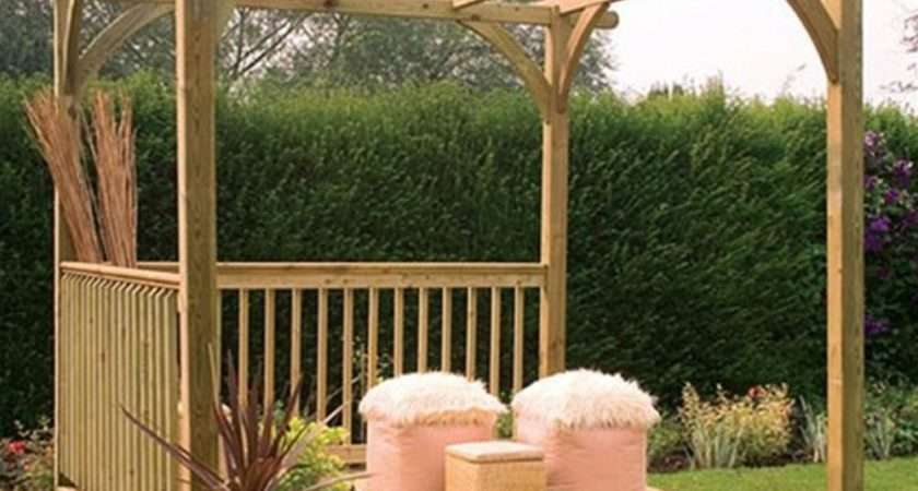 Forest Garden Small Ultima Pergola Deck Kit