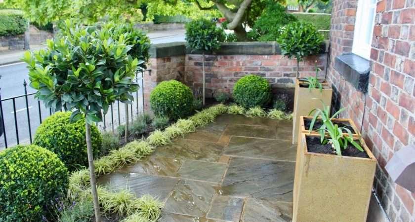 Formal Front Garden Makeover Ninja Ltd Design