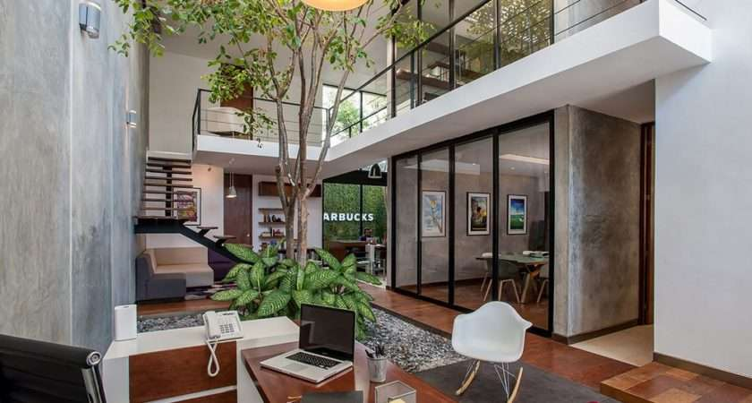 Formality Modern Matatena Offices Mexico Freshome