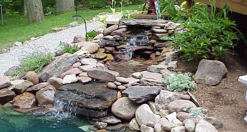 Fountain Pond Water Feature Diy Small Backyard