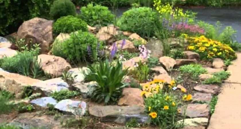 Four Easy Rock Garden Design Ideas