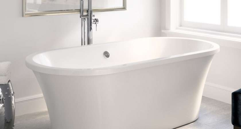 Freestanding Bath Tub Roll Top Designer Double Ended