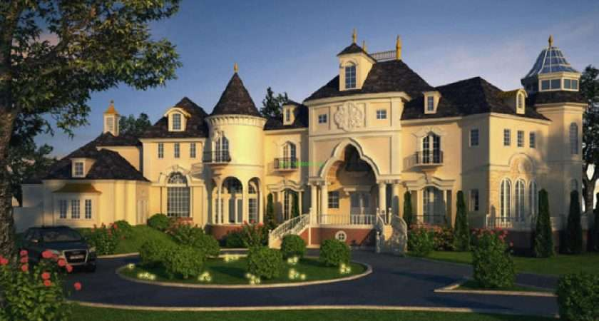 French Chateau Style Home