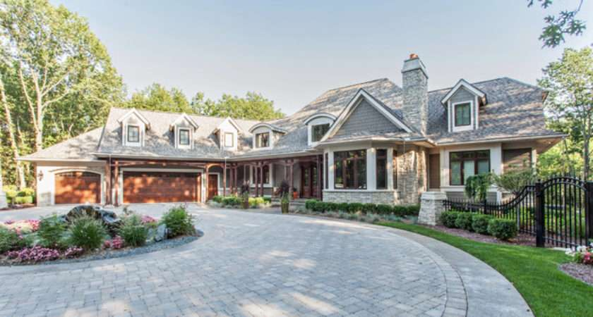 French Country European Style Home Traditional