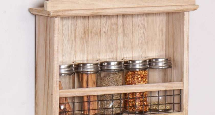 French Country Kitchen Spice Rack