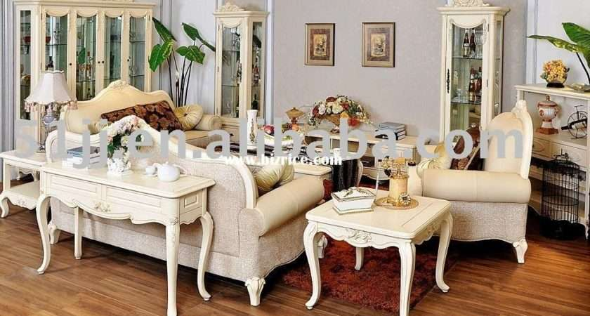 French Country Style Solid Wood Living Room Furniture China
