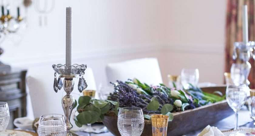 French Country Table Setting Brokeasshome