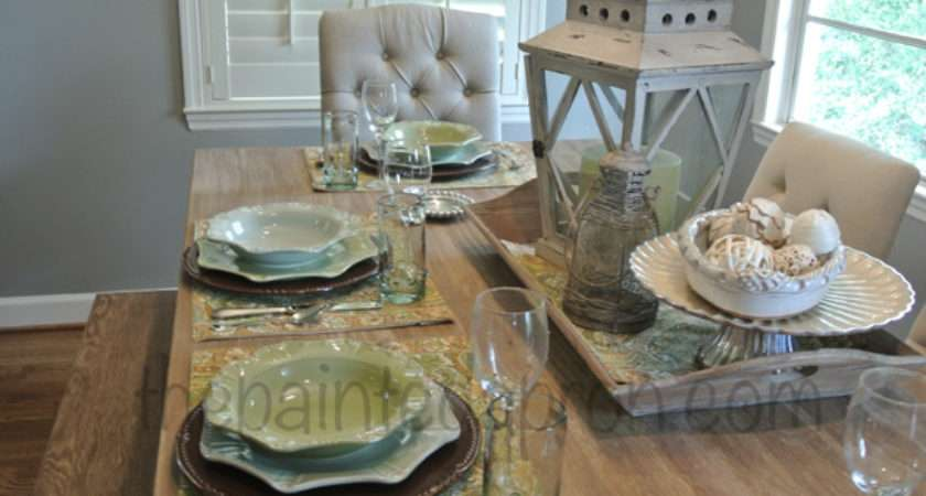 French Country Table Setting Pixshark