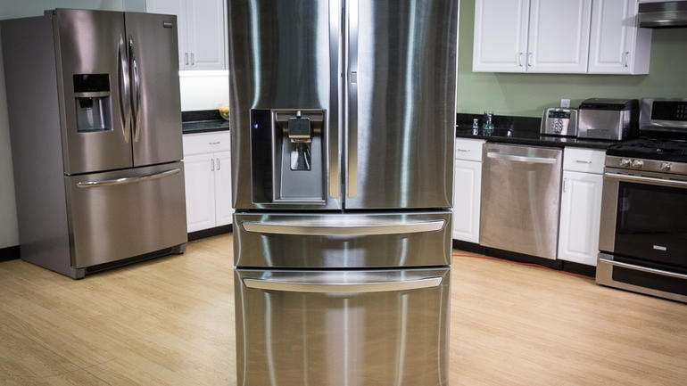 French Door Refrigerator Review High Rolling Fridge Keeps Its