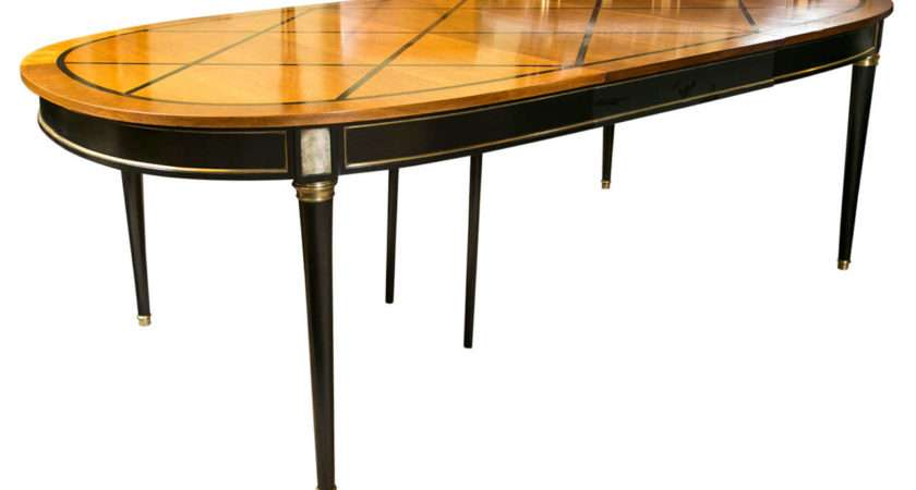 French Louis Xvi Style Dining Table Maison Jansen