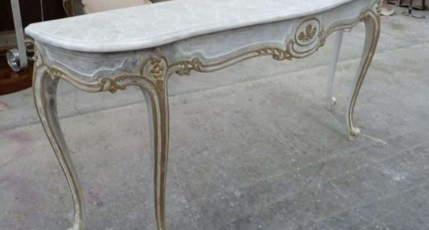French Style Console Table Painted Cool Consoles Pinterest