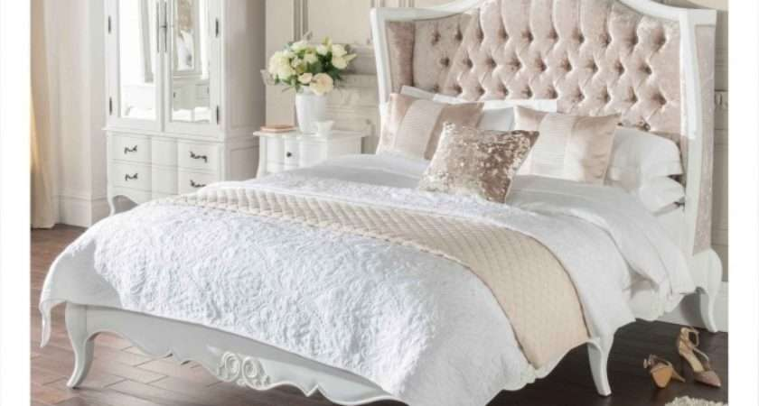 French Style Crushed Velvet Beds Look Better Homes