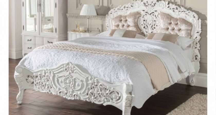 French Style Crushed Velvet Beds Look Better