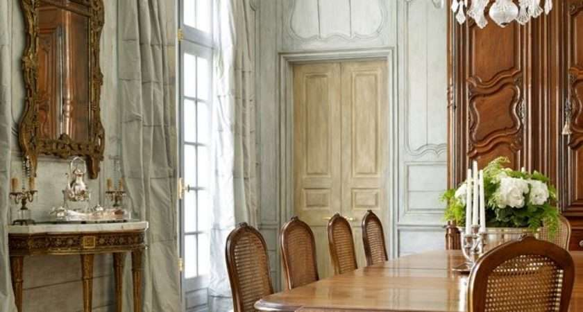 French Style Dining Room Decoration Pinterest