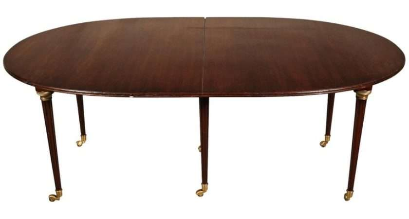 French Style Mahogany Dining Table Sale Stdibs