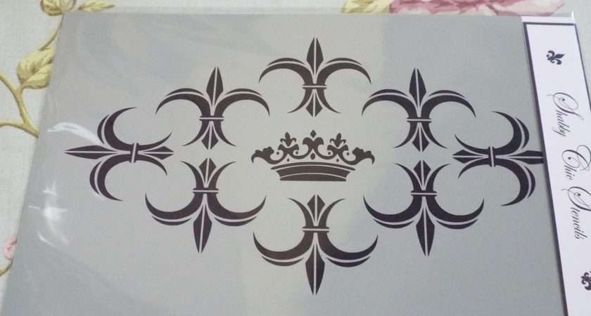 French Style Stencils Furniture Shabby Chic