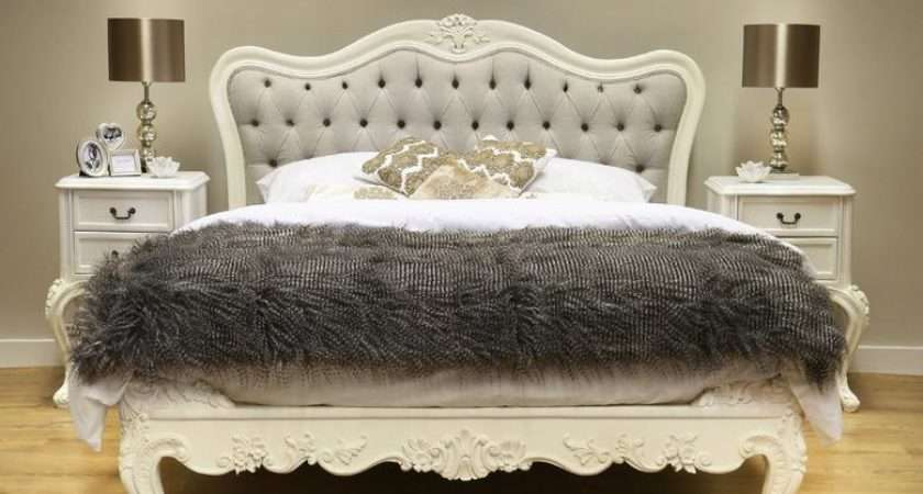 French Style Vintage Shabby Chic Furniture Crown