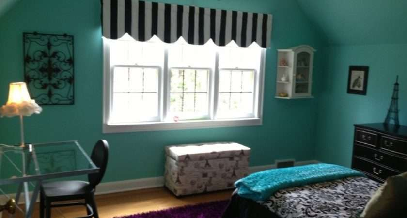French Themed Rooms Paris Bedrooms Teens Blue