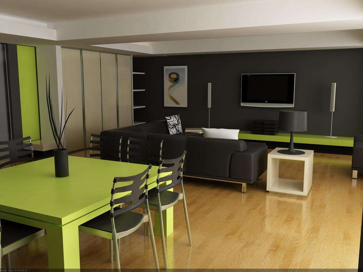 Friends Sites Photos Living Lime Green Black Room Ideas