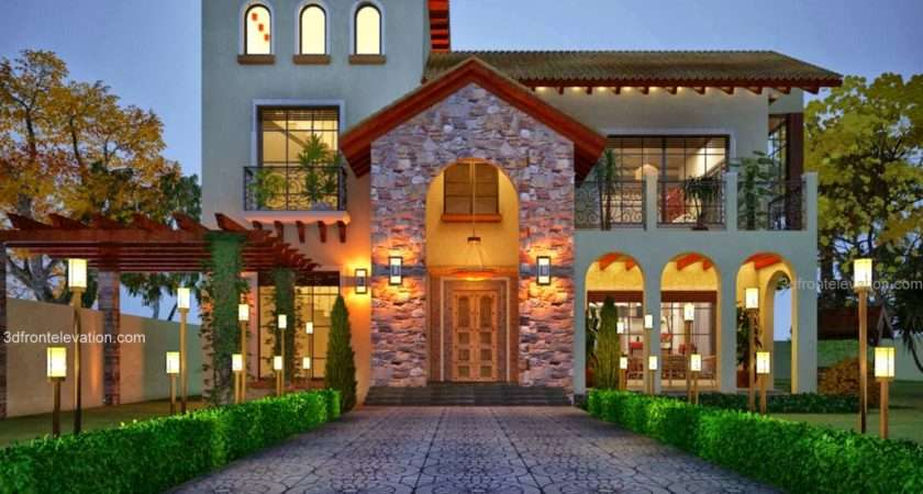 Front Elevation Beautiful House Designs