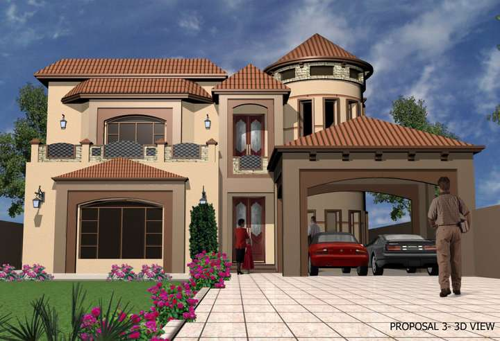 Front Elevation Kanal House