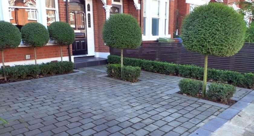 Front Garden Block Paving Driveway Dulwich London