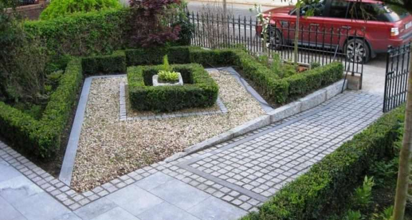 Front Garden Design Ideas Drivesway Using Fence Olpos