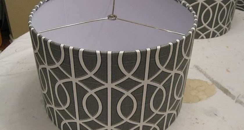 Frugal Life Project Diy Recovering Lampshade