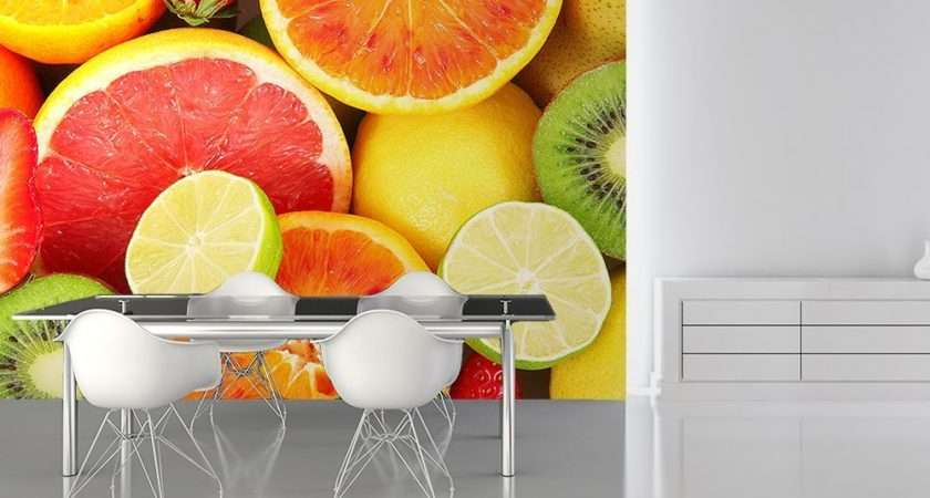 Fruits Kitchen Wall Decor Paper Store