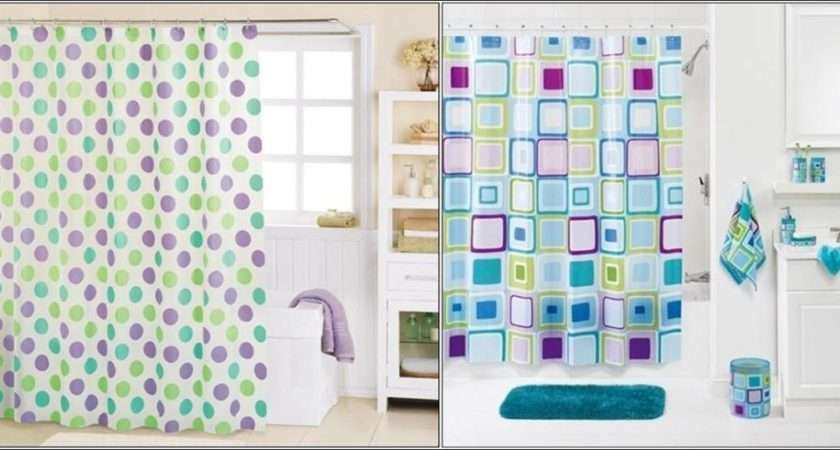 Fun Funky Shower Curtains Simple Bathroom