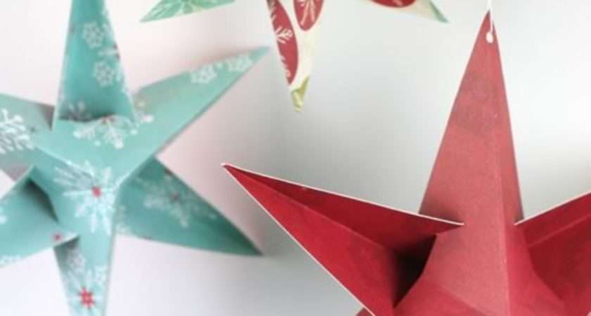 Fun Make Easy Christmas Paper Crafts Your Kids