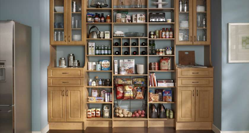 Functional Stylish Designs Kitchen Pantry Cabinet Ideas