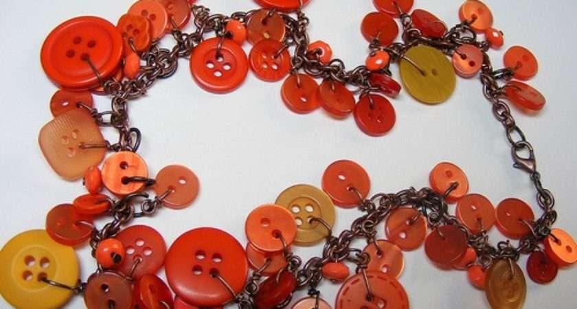 Funky Button Jewelry