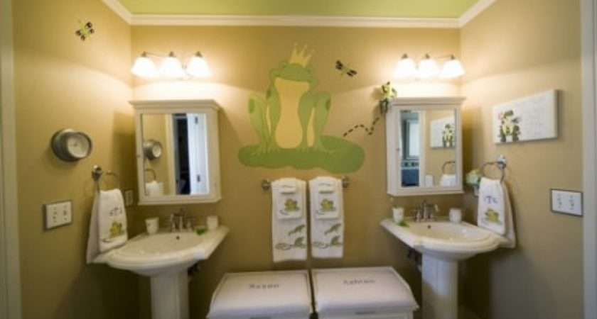 Funny Kids Bathroom Accessories Decor Ideas Photos Home