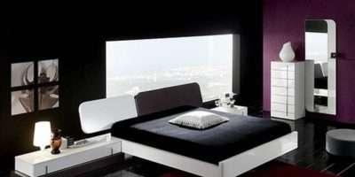 Furniture Comfortable Bedroom Ideas Purple Bright Paint Colors