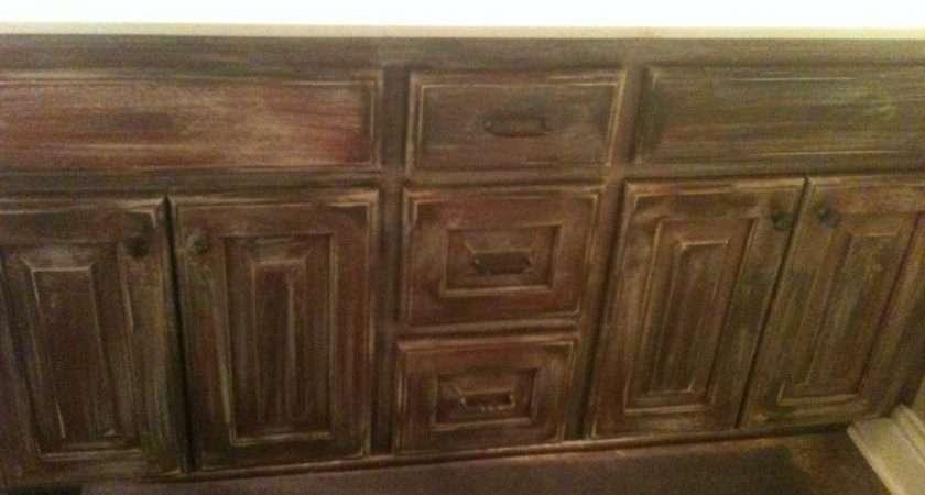 Furniture Designs Distressed Bathroom Cabinets